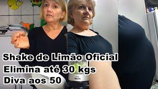 Perca até 30 kilos em 1 mês Eliminando Estômago alto barriga grande ,com Shake de limão