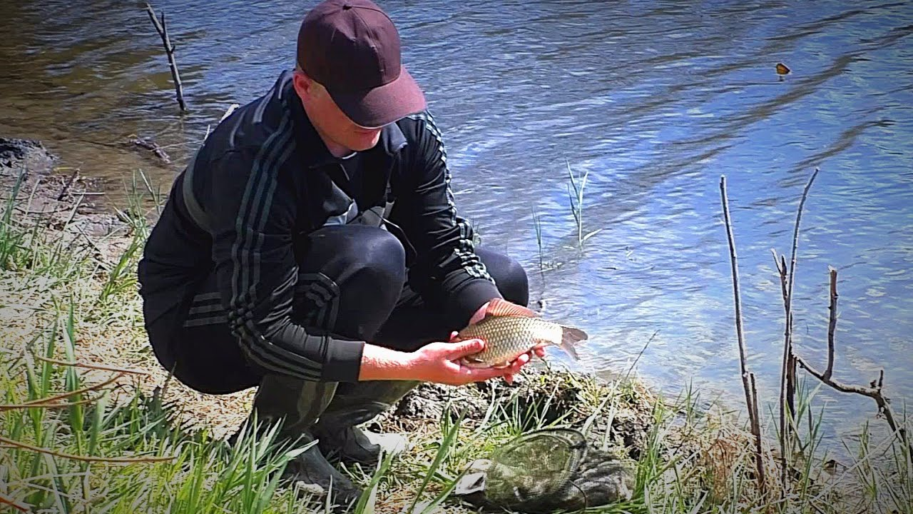 рыбалка весной на карася видео на пробку
