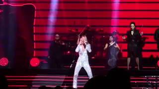 Celine Dion Courage Tour Opening night concert clips  USA Cleveland 10.18.2019 Rocket Mortgage Arena