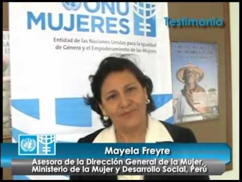 Testimonio de Mayela Freyre Funcionaria Ministerio de la Mujer sobre Presupuesto y Género