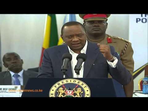 President Kenyatta Wages War On Terror