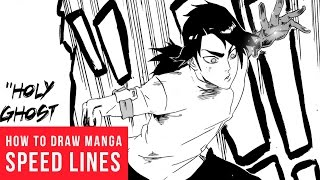 How To Draw Manga: Speed & Focus Lines