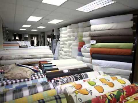 Tienda de telas tejidos paredes madrid youtube - Telas para tapizar paredes ...