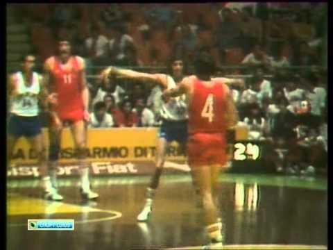 ЧЕ по баскетболу 1979г. СССР - Израиль