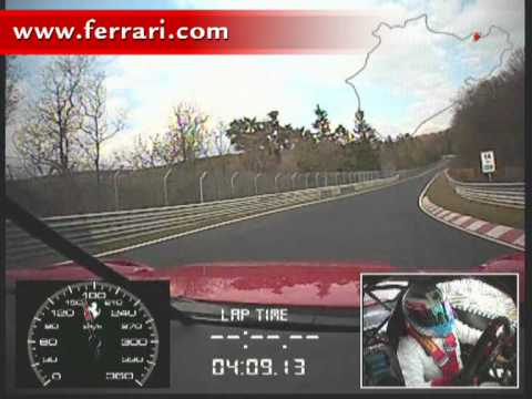 Ferrari 599XX sets new record on the Nurburgring