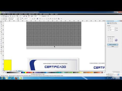 Como Diseñar un Certificado en CorelDraw Capitulo 13