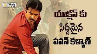 Pawan kalyan Ready to do Action Scenes Trivikram Movie