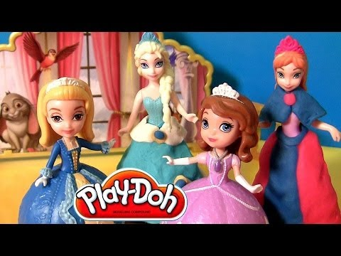 Princess Sofia The First Dancing Sisters Play Doh Design a