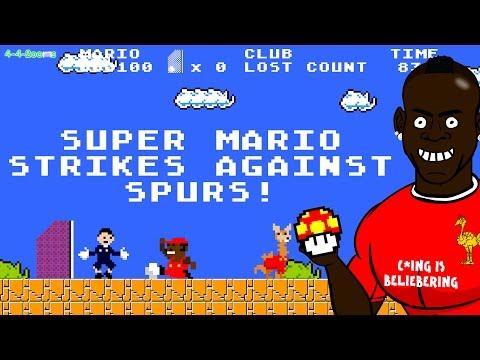 SUPER MARIO BALOTELLI SCORES!!! Liverpool vs Spurs Cartoon