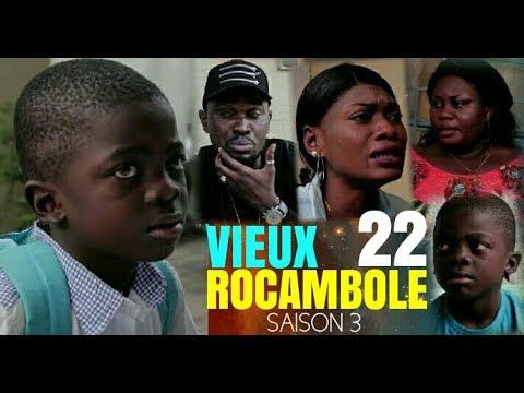 VIEUX ROCAMBOLE 22 Saison 3 Théâtre Congolais Nouveauté 2018 | Rocali Guecho Sharufa Lolita