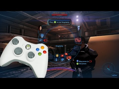 Tutorial: How to use an Xbox controller on Mass Effect 3 for PC!!