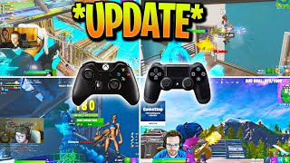 7 Controller Pros Give HONEST Opinion on AIM ASSIST Update! (Fortnite)