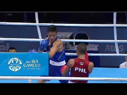 Boxing (Day 5) Men's Lightweight (60kg) Finals Bout 71 | 28th SEA Games Singapore 2015