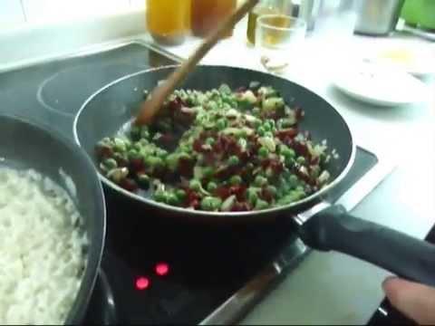receta facil y barata arroz a la milanesa
