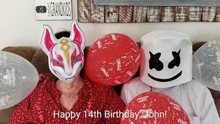 Grandma & Pops Birthday Fortnite Wish April 14, 2019