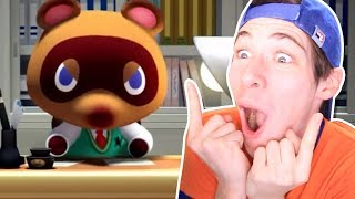ANIMAL CROSSING SWITCH REACCIÓN | Folagor03