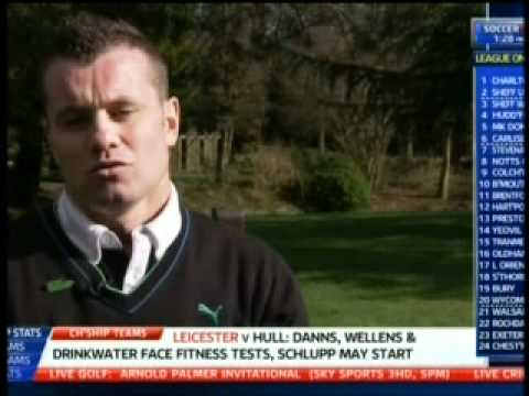 Shay Given Fashion Kicks Gillette Soccer Saturday Sky Sports 24-03-12