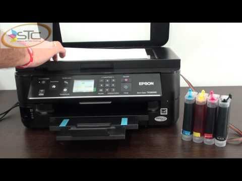Impresora Epson TX560WD Sistema de Tinta Continua STC