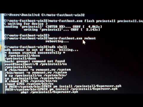 Rootear Motorola Atrix con