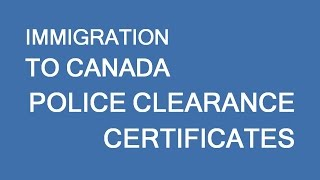 download lagu Police Certificate Issues For Immigration To Canada. What To gratis