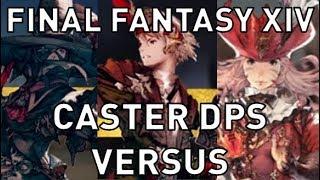 FFXIV: Black Mage vs Summoner vs Red Mage (4.2)