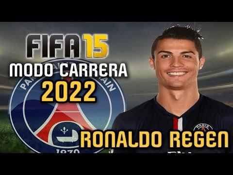 Cristiano RONALDO REGEN - Modo Carrera 2022 PSG - FIFA 15