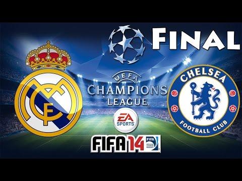 FIFA 14 UEFA Champions League FINAL Real Madrid C.F. vs Chelsea F.C.