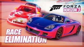Forza Horizon 3 - The Elimination Race! (Battling, Bling Hilux, and More)