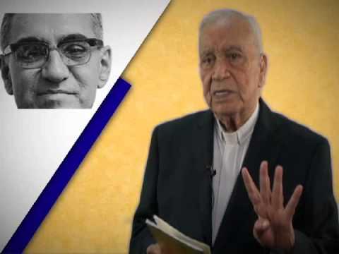 Dichoso el hombre que trabaja por la paz... Mons. Ricardo Urioste. Pdte Fundacion Monseñor Romero