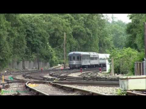 Amtrak's Hudson Limited on Metro North's Hudson Line