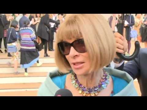 Anna Wintour interview at Burberry show: American Vogue editor on how to feel good about yourself