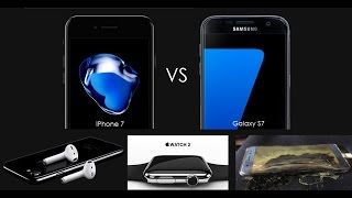 S9 Ep.7 - iPhone 7 vs. Galaxy S7, Galaxy Note 7 Explosion - TechTalk with Solomon