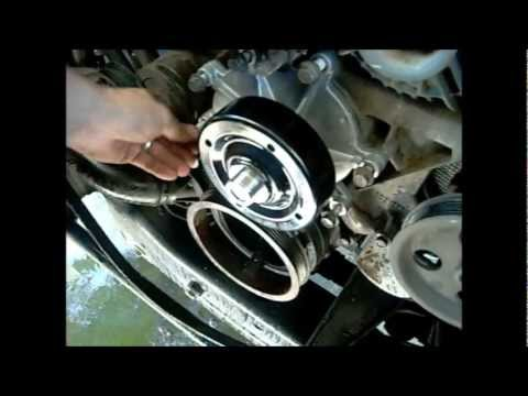 HOWTO INSTALL a water pump on an 04 dodge ram 1500 4.7L