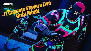 Fortnite #1 Console Players Live|Urdu/Hindi|TheDamnation.