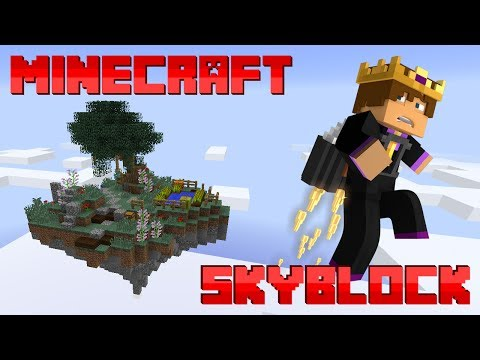 Minecraft: Skyblock Server #13 - HARD CHALLENGES!