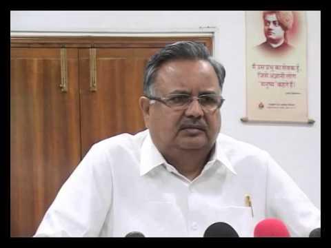Chhattisgarh CM Dr Raman Singh's condolence message of Shri Gopinath Munde