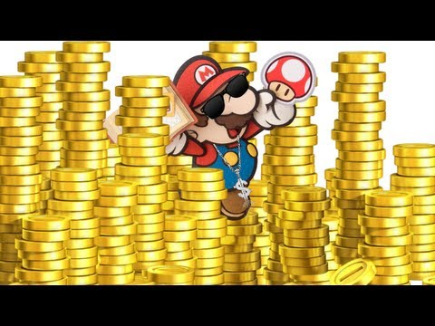 Get your accomplishment flags and make money faster - Paper Mario: Sticker Star