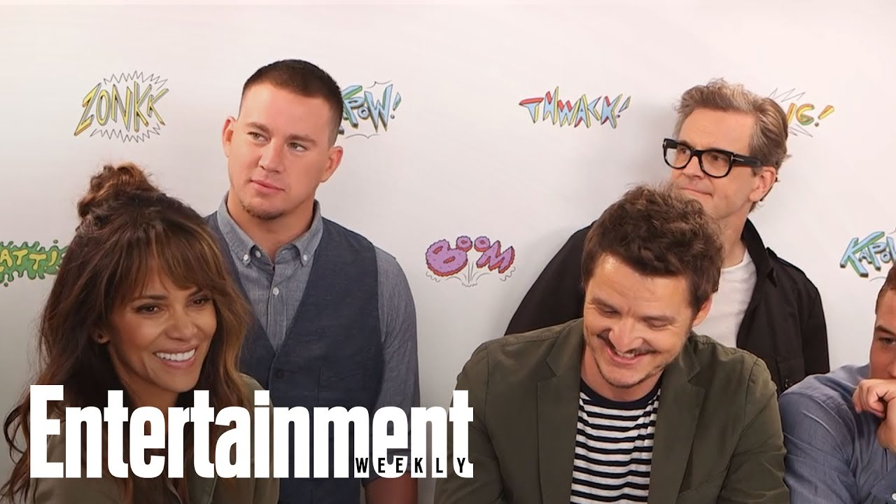 Channing Tatum, Halle Berry, Colin Firth & Cast Talk 'Kingsman' | SDCC 2017 | Entertainment Weekly
