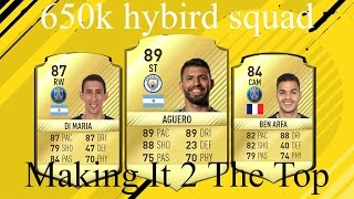 Fifa 17 650k hybird squad with Aguero!!! Making it 2 the top | #8 |