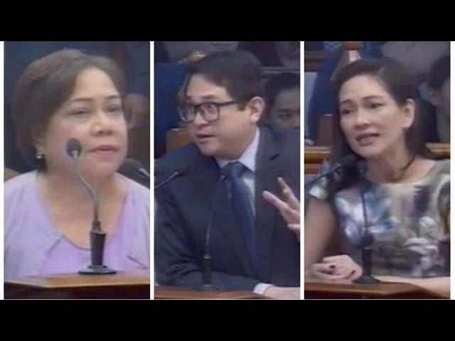 Villar names Bam, Risa in plot to 'destroy' Senate majority but…