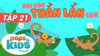 Mầm Chồi Lá Tập 21 - Hai Con Thằn Lằn Con - Nhạc Thiếu Nhi Hay Trên Kênh POPS Kids
