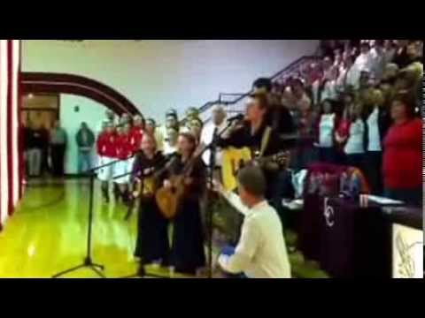 Good Ground, National Anthem, 14th Regional Tournament, Leslie County High school, 2014