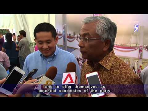 Amrin Amin -  a potential election candidate for PAP? -  26Apr2014