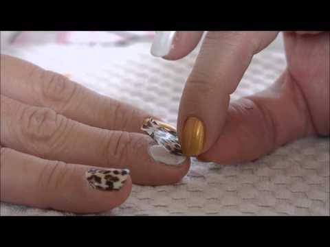 Tutorial: Como aplicar a película nas unhas - by Cherry Nail Art
