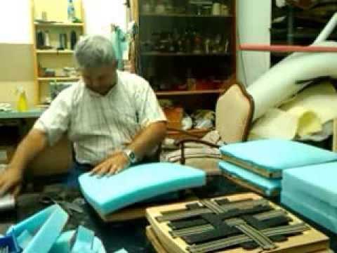 Poner espuma en asiento silla youtube - Espuma para tapizar ...