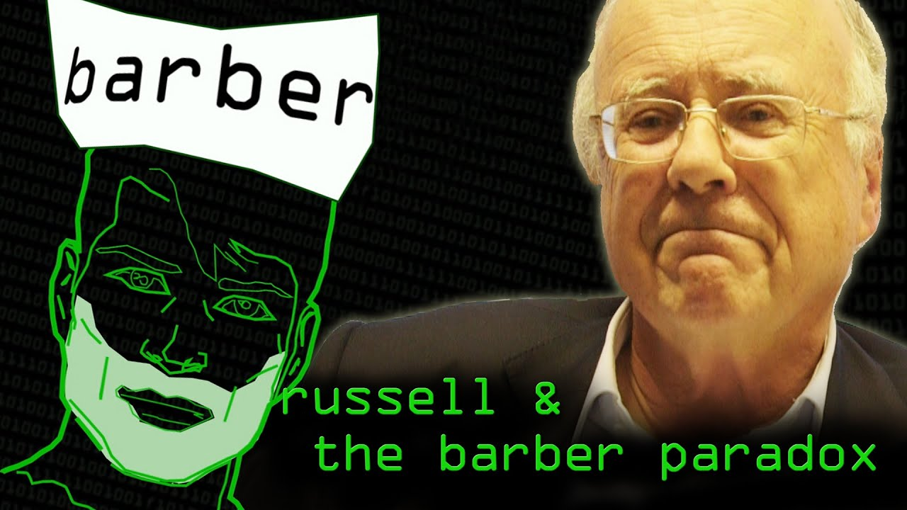 Barber Paradox : Barber & Russell Paradoxes (History of Undecidability Part 2 ...
