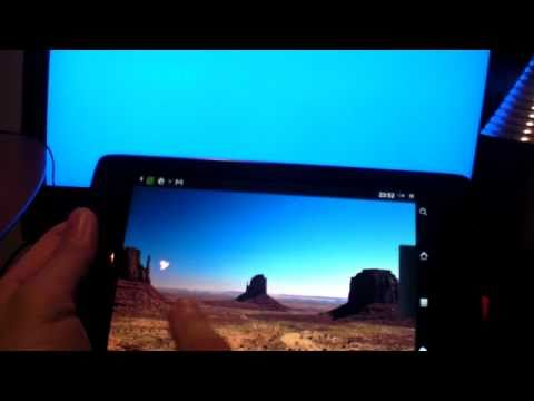 Thumb Review of the Archos 70 Internet Tablet