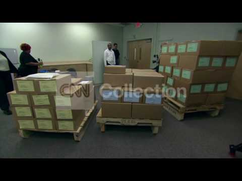 PRESIDENT OBAMA'S BUDGET ROLLED OUT IN BOXES
