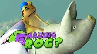 JOURNEY TO THE EDGE OF THE WORLD - Amazing Frog - Part 73 | Pungence