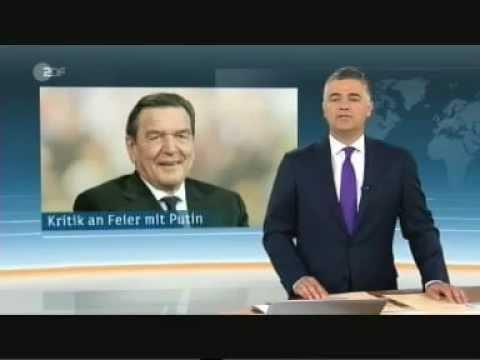 Schroeder feiert mit Putin und Missfelder seinen 70 Geburtstag